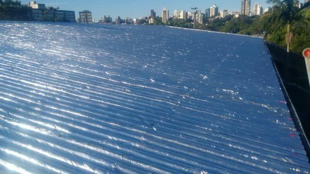 Impermeabilizações em telhados e terraço com manta asfaltica - Foto 4