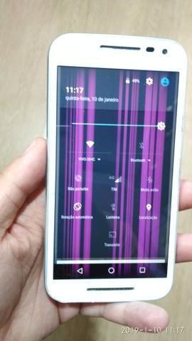 Celular smartphone Motorola moto g3 usado leia o anúncio