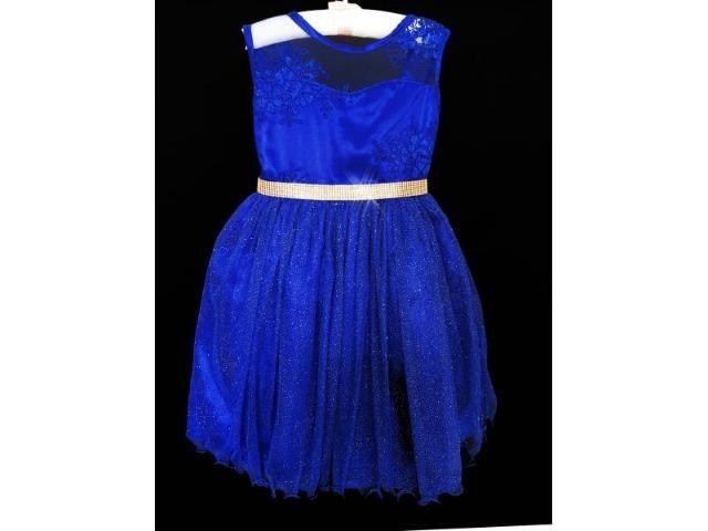 Vestido Realeza Azul Royal | Frete Grátis | até 12X no cartão