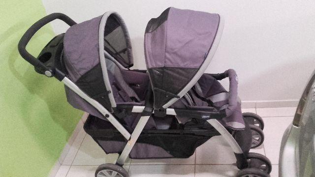 Carrinho Bebê Duplo Chicco