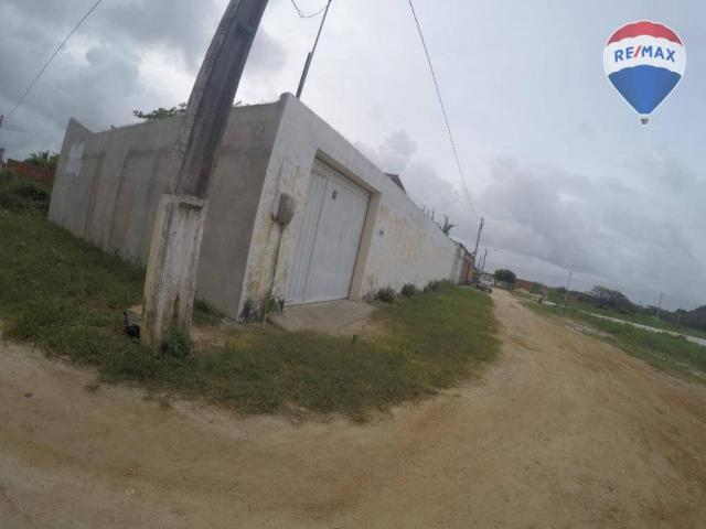Casa com 2 dormitórios à venda, 77 m² por r$ 75.000 - carlotas - paracuru/ce - Foto 6