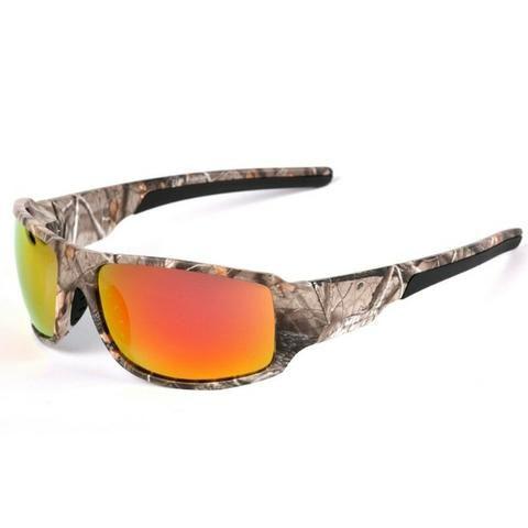 f0ff5b9b3 Óculos de Sol Camuflado 100% Lentes Polarizadas Promoção ...