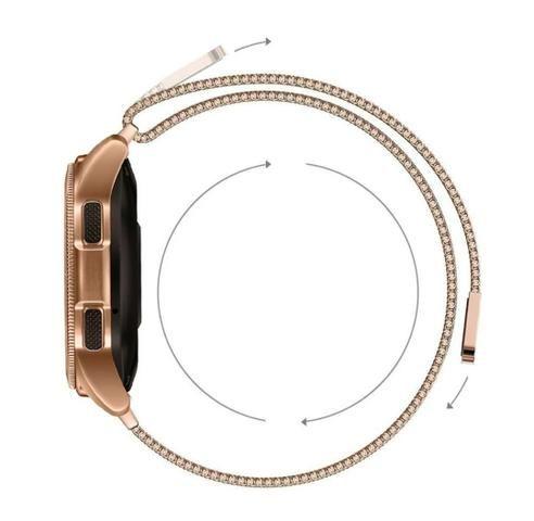 Pulseira para relógio,malha de aço inoxidável - Foto 4