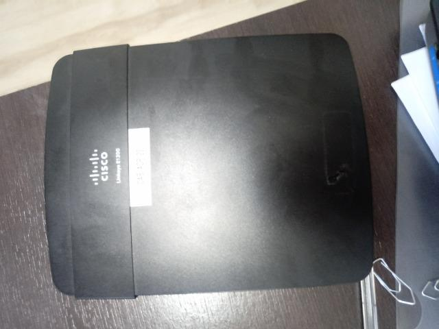 Roteador Cisco LinkSys E1200