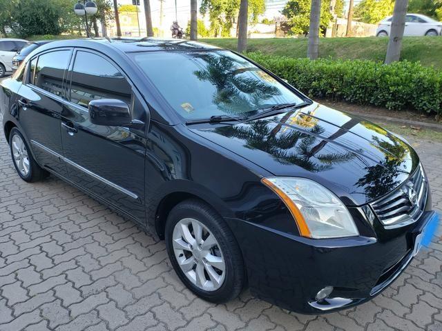 Nissan sentra (com gnv g5) automático ( finan.ent. 7 mil )aceito trocas - Foto 4