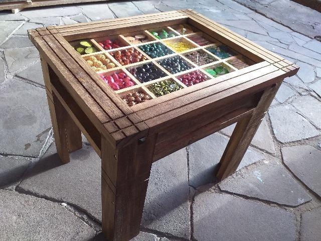 Mesa de centro rústica artesanal - Foto 3