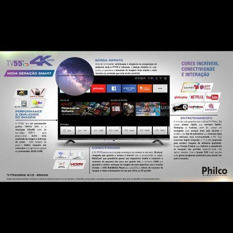 Tv Philco 55 4k UHD smart - Foto 3