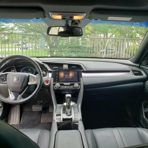 Honda Civic Touring / Top de linha / Impecável/ 27.000kms - Foto 5