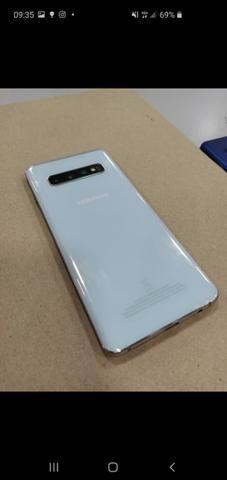 Show de Oportunidade Samsung S10,Novíssimo,c/garantia ,nota e acessórios - Foto 2