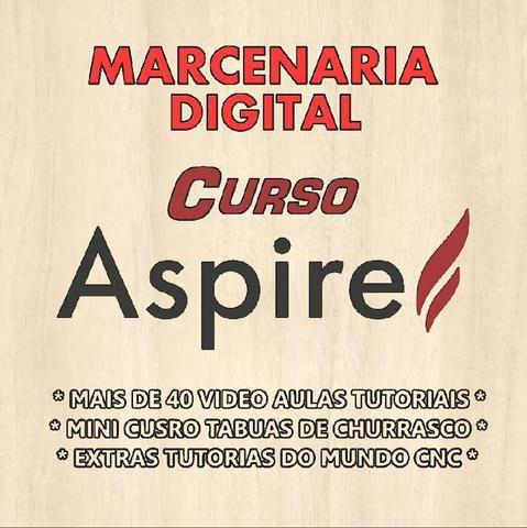 Curso Aspire Pró Vectric + Extras - Vídeos Aulas Tutoriais