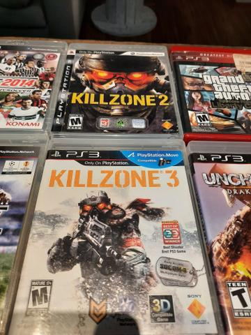 Lote PS3 com 7 Jogos - Foto 3