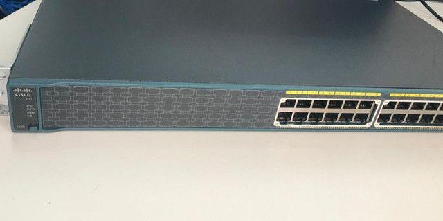 Switch Catalyst 2960 Series Poe-24 Pc-S (leia A Descrição)