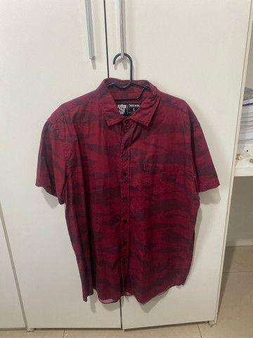 Camisa Social Thug Nine