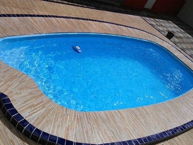 TA- Queimão piscina de fibra 5,8 metros Anil- 30 anos de mercado