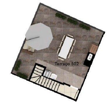 Cobertura três quartos à venda no Alto Caiçaras, Belo Horizonte com 2 vagas de garagem, el - Foto 12