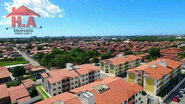 Apartamento com 3 dormitórios à venda, 63 m² por R$ 220.000 - Mondubim - Fortaleza/CE - Foto 3