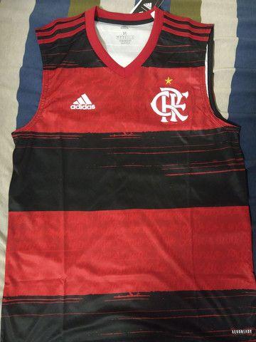 Camisa regata do Flamengo oficial - Foto 3
