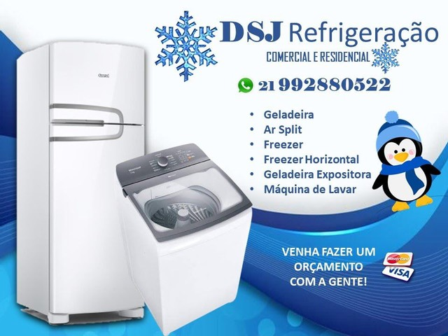 Assistência técnica de geladeira e máquinas de lavar