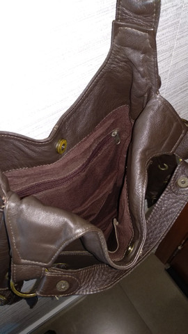 Bolsa couro de boi, só 85 reais!!! - Foto 3