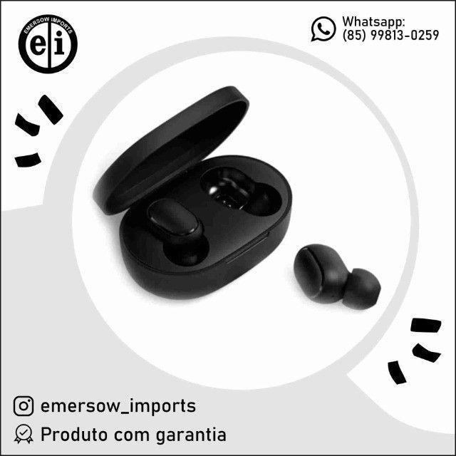 Fone De Ouvido Bluetooth AirDots Ligações Celular  (Entrega Grátis)