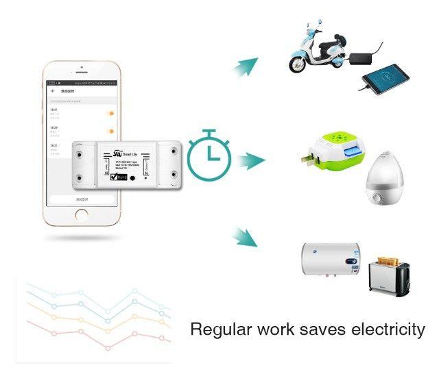 Smart Switch Moes Melhor que Sonoff Automação Alexa Google Home - Foto 6