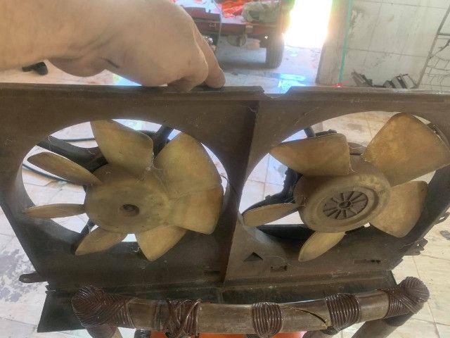 compressor ventoinhas e bomba de direcao omega australano - Foto 5