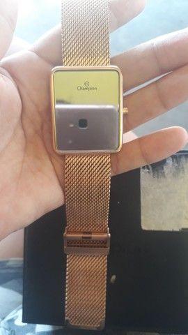 Vendo relógio tipo espelho digital... - Foto 5