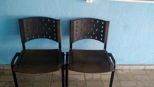 5 Cadeiras Com Nota Fiscal (Leia Descrição)