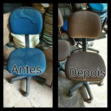 Conserto de cadeiras giratórias e fixas de escritório