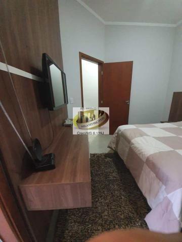 Casa à venda com 3 dormitórios em Parque são carlos, Três lagoas cod:408 - Foto 5