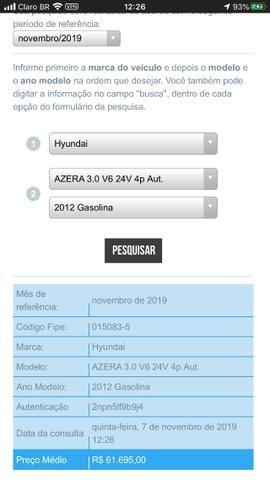 Azera prata v6 ano 2011 modelo 2012 - Foto 10