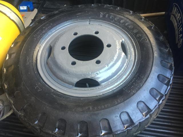 Roda aro 16 c/pneu 750 - Foto 4