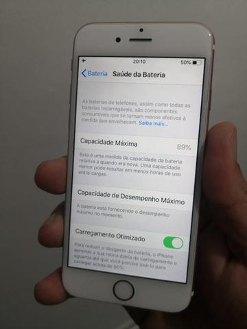 IPhone 6s 64GB Rosê ACEITO CARTÃO - Foto 2