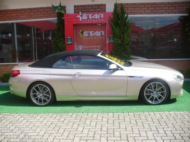 BMW 650I Cabrio Aut. Prata 2012 Starveiculos - Foto 8