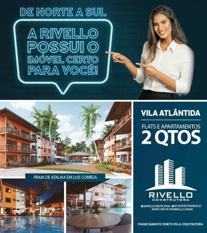 Flats e Apartamentos de 02 Quartos em Luís Correia