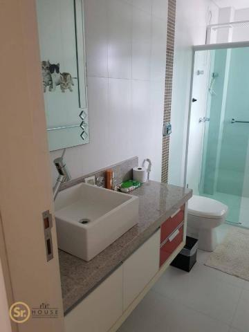 Casa com 5 dormitórios para alugar por r$ 12.000/mês - praia do estaleiro - balneário camb - Foto 19