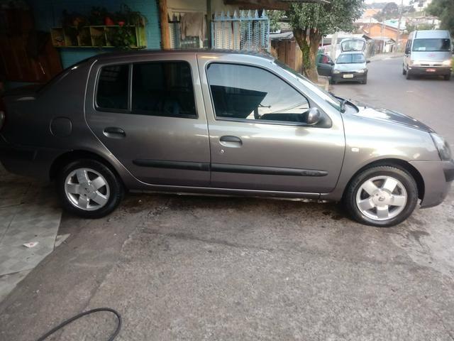 Clio sedan 1.6 completo R$11.500 abaixo da Fipe - Foto 2