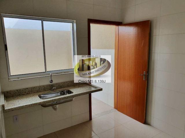 Casa à venda com 2 dormitórios em Nova três lagoas, Três lagoas cod:410 - Foto 16