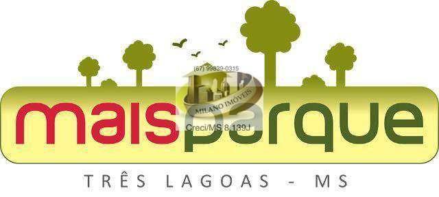 Terreno à venda em Jardim santo andré, Três lagoas cod:327