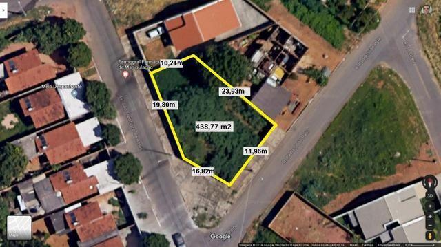Lote Residencial Santa Fé, 438,77m², Entre Setor Cristina e Forte Ville. (Murado) - Foto 6