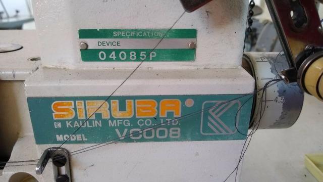 Maquina De Costura Elastiqueira Siruba Vc008 - Foto 2