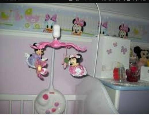Mobile Projetor Musical Minnie
