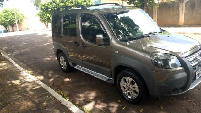 Fiat Doblo 2013 adv 6 lugares ac trocas carro/moto