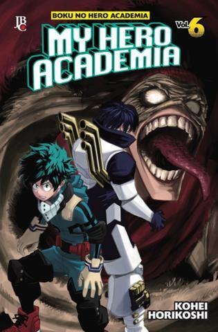 My Hero Academia (Boku no Hero Academia) - Edição 06