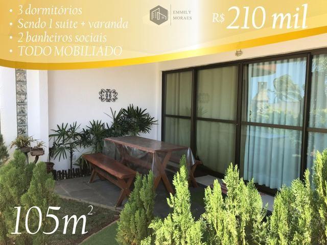 Duplex em Barreta TODO mobiliado e beira mar - R$ 210 mil