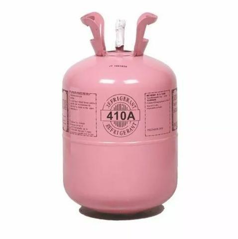 Gás Refrigerante R-22 e R-410