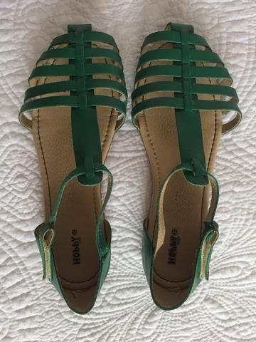 Sandália verde