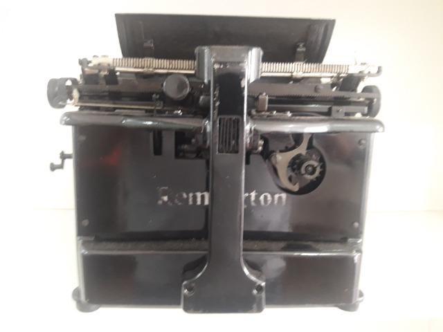 Antiguidade, Maquina de escrever Remington 12 ano 1922