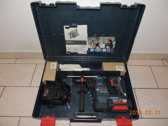 Martelete rotativo Bosch bateria 36 volts
