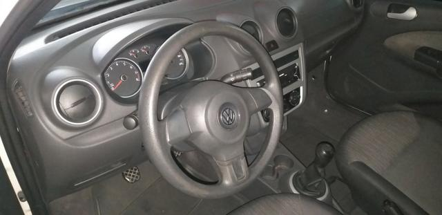 Vw -Gol City total 1.6 Ano 2014 com GNV 2019 vistoriado super novo !!!! - Foto 2
